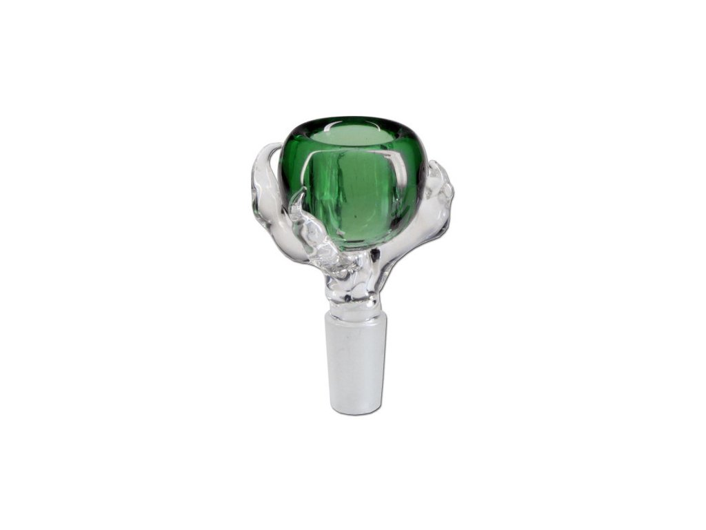 352 2 skleneny kotlik 18 8mm claw zelena