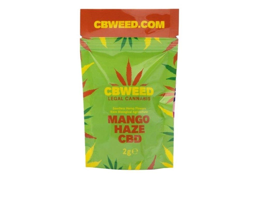 cbweed mangohaze konopi cbd kvety