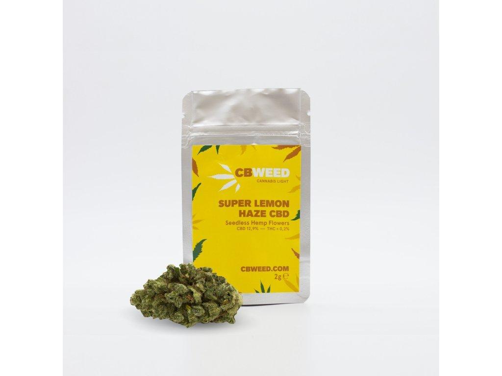 CBD konopí - Super Lemon Haze - CBWEED