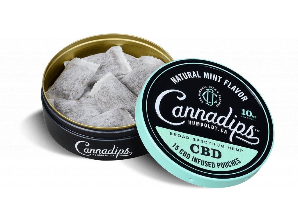 Cannadips žvýkací CBD