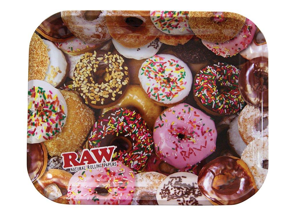 raw podklad tray donuts