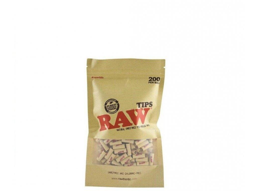 raw filtry predtocene 200 pytel