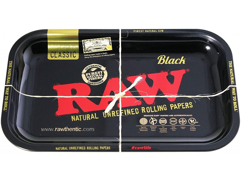 raw tray podklad black