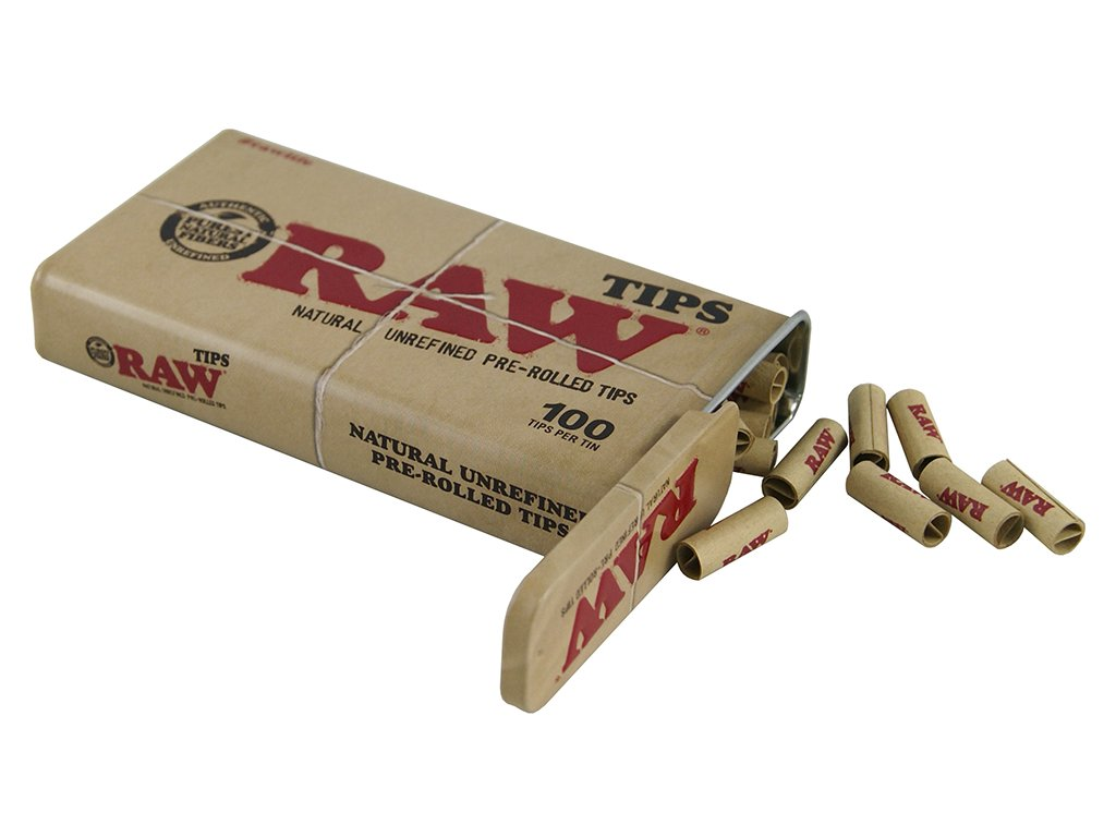RAW TIPSPREROLLED TIN 2
