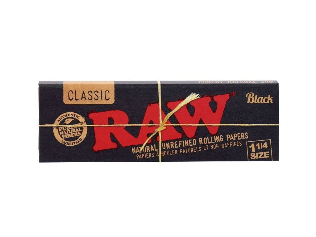 raw kratke papirky black