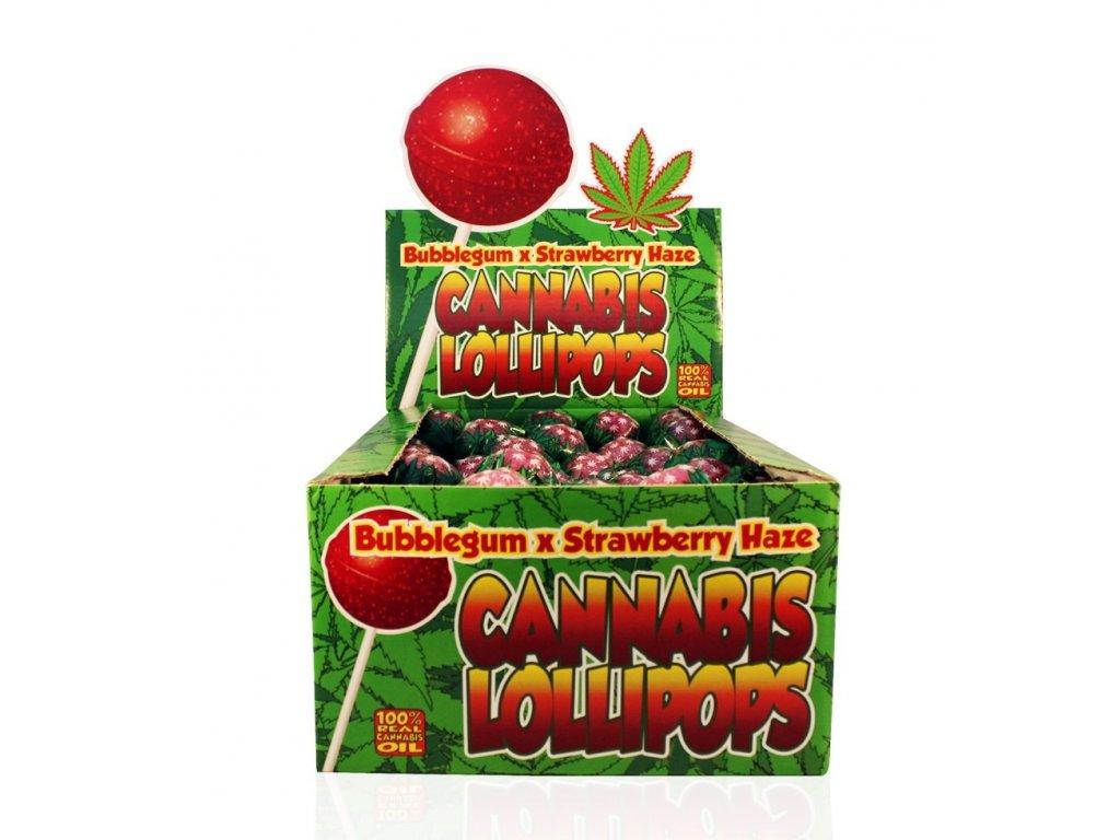 konopne lizatko strawberry