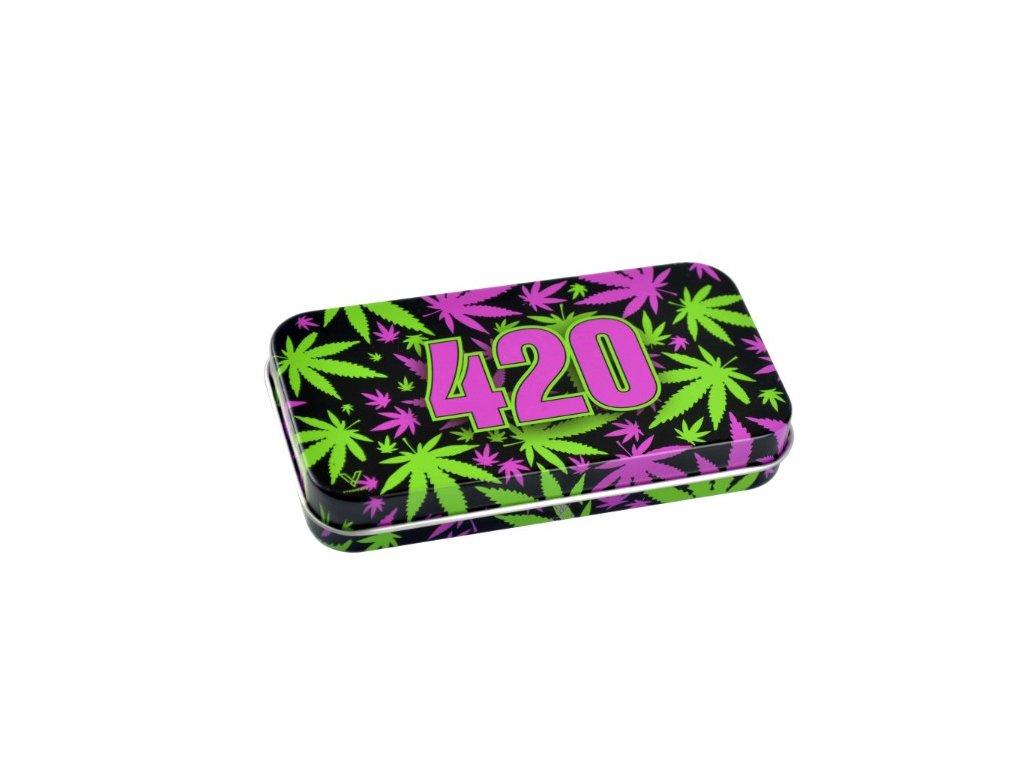 krabicka schovka trava 420