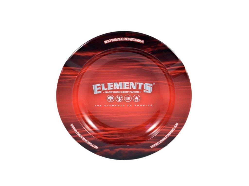 popelnik elements red magnetem