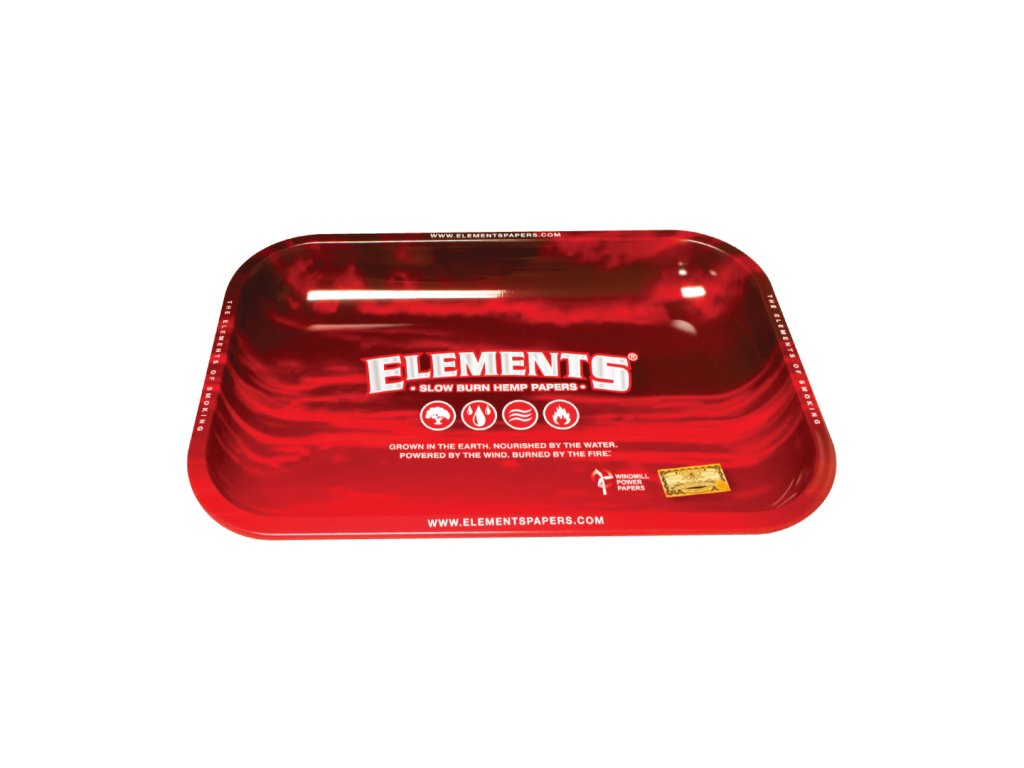 elements red podklad tray