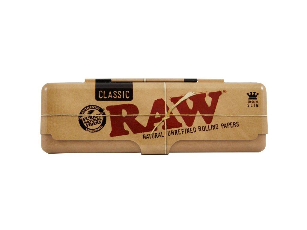 raw obal kovovy papirky