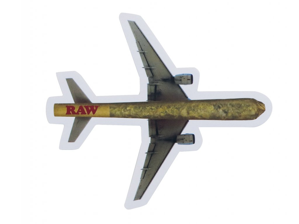 samolepka raw konopny joint