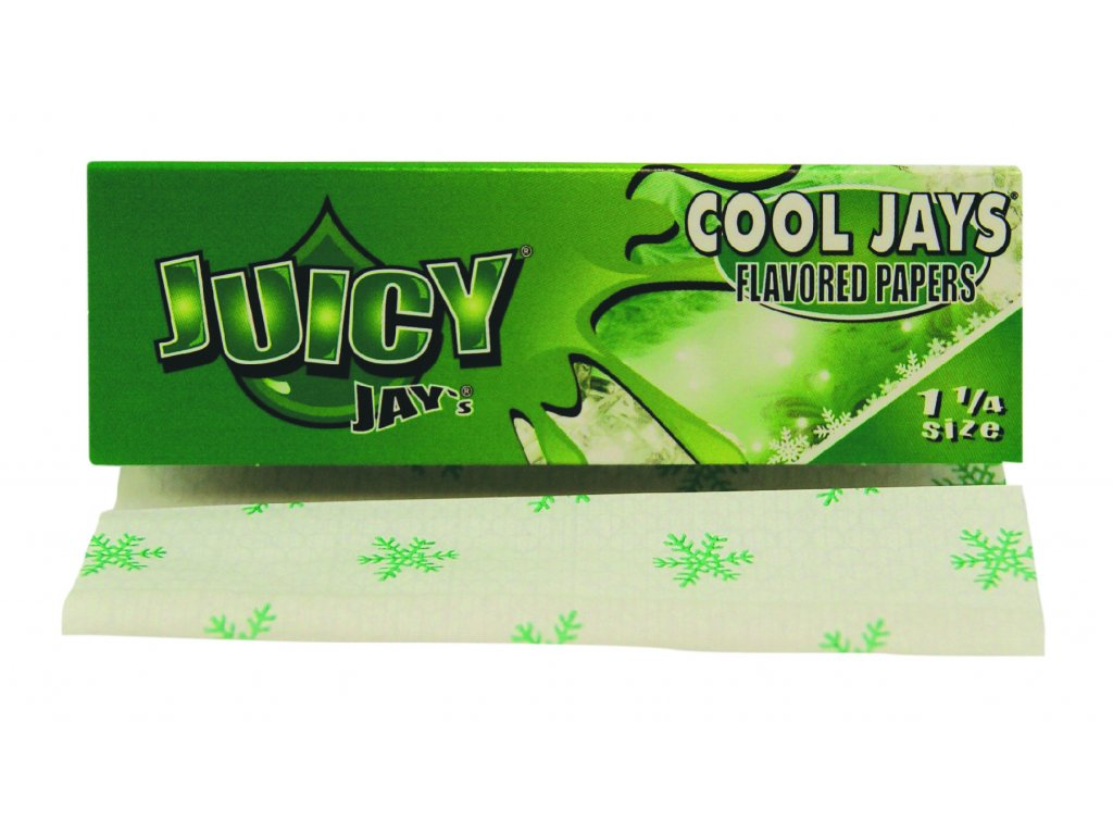 mentolove papirky juicy cool