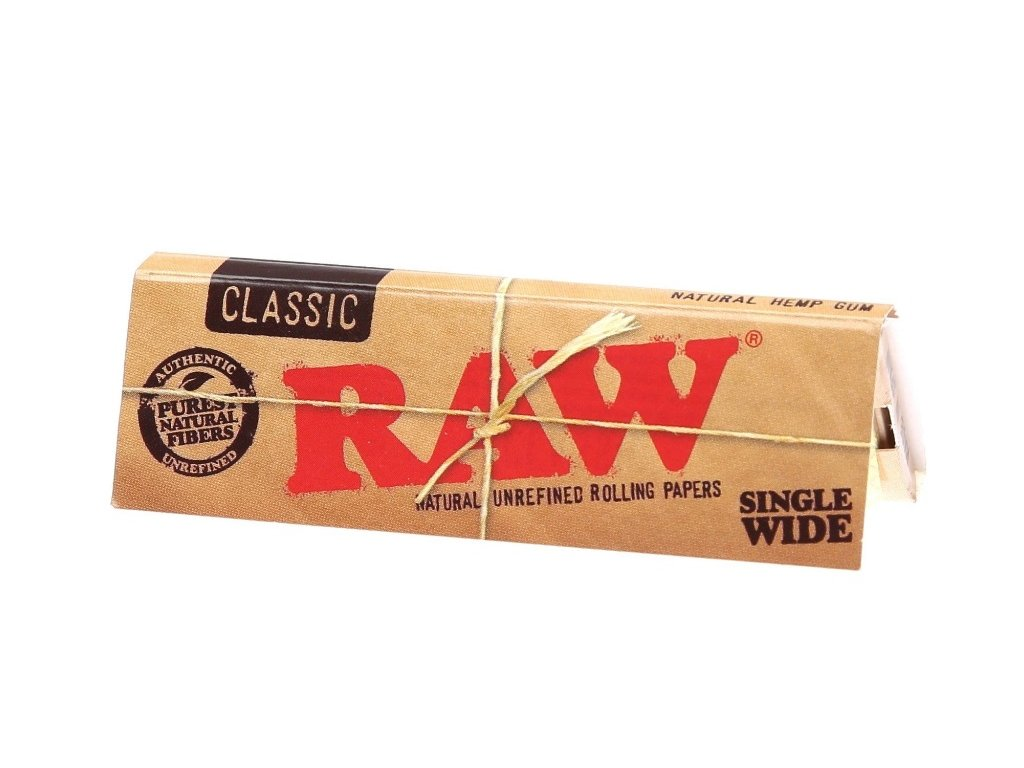 kratke raw papirky single wide
