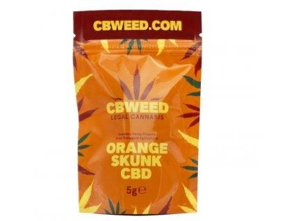 cbweed orangeskunk konopi cbd kvety