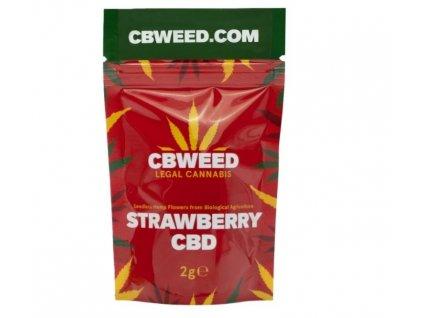 cbweed strawberry konopi cbd marihuana