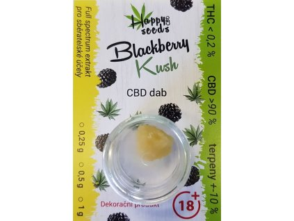 cbd dab terpsolat blackberry kush f