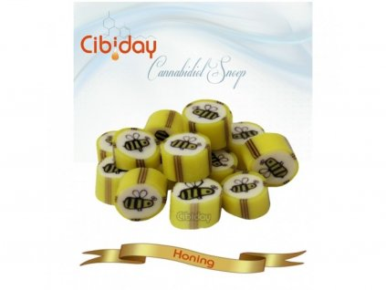 medove cbd bonbony