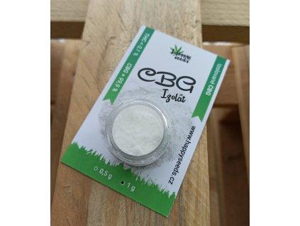 CBG Izolát - prášek (CBG>98%) od Happy seeds