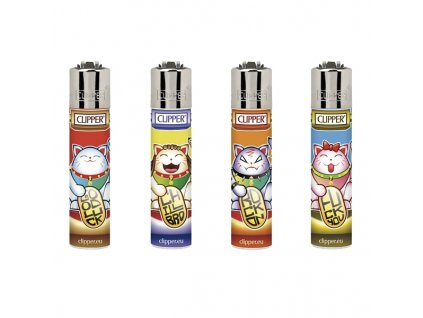 zapalovace clipper lucky cats
