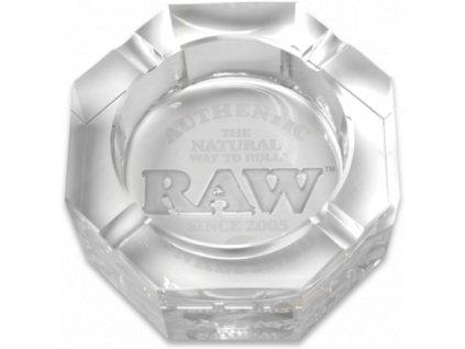 raw popelnik skleneny kristalovy