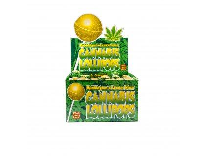 konopna lizatka lemon haze