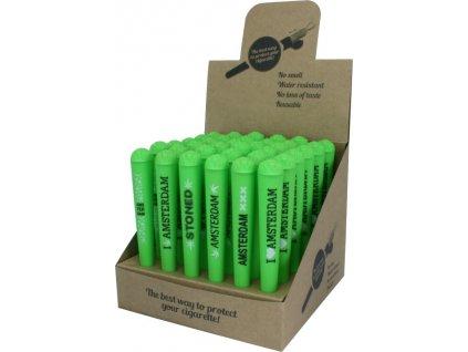 zelená schovka na jointy