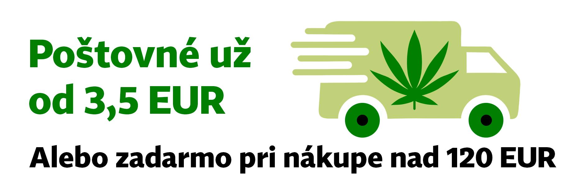 doprava weedshop.sk