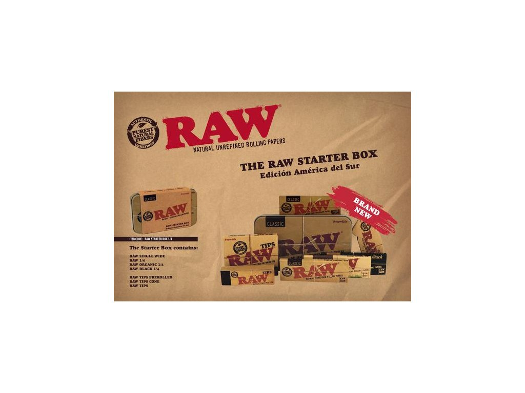 raw box usa edice
