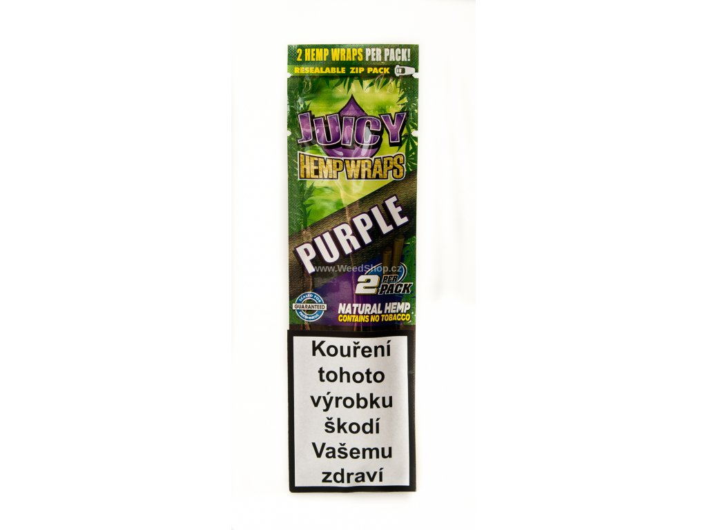 Juicy hemp blunt purple