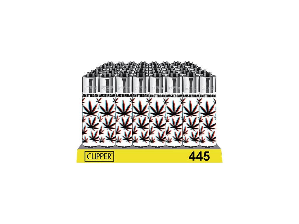 zapalovač clipper konopny list 3d