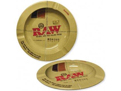 raw kovovy popelnik