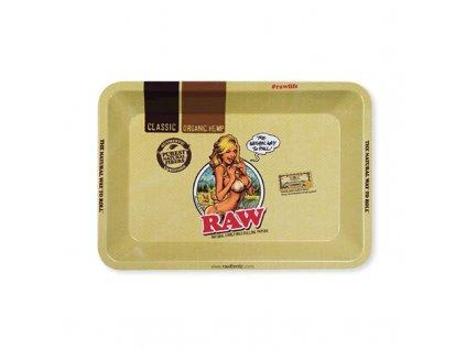 raw mini girl podklad konopi
