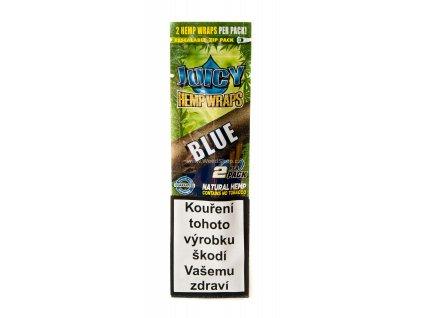 Juicy hemp wraps blunt blue