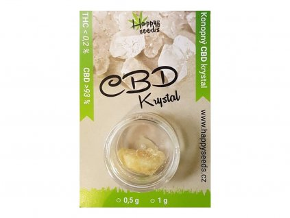 Happy seeds CBD Krystal (93% CBD) (Váha 1g)