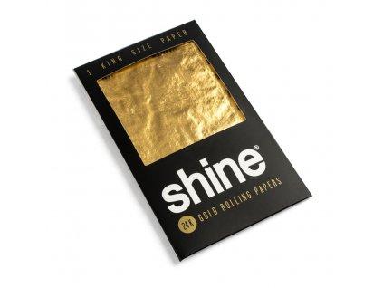 shine zlate papieriky box