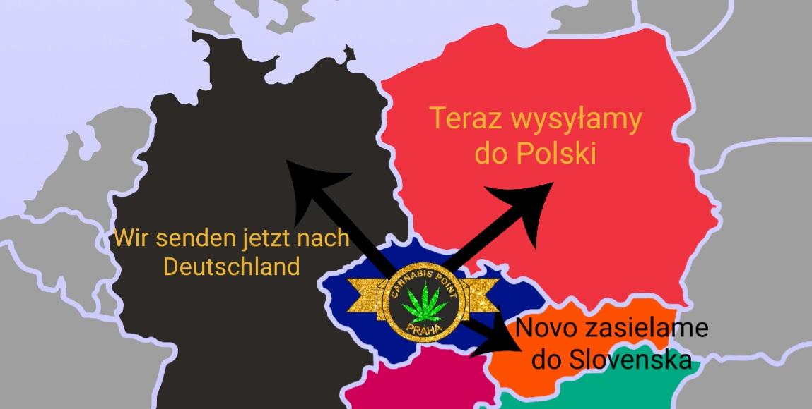 Zasíláme po Evropě