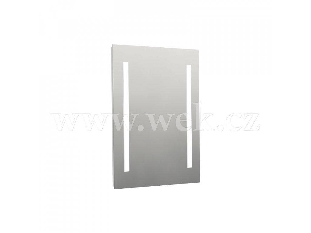 LI4 ZS 60/70 TF | Zrcadlo na desce s integrovaným osvětlením LED, topnou fólií a IR senzorem, IP44