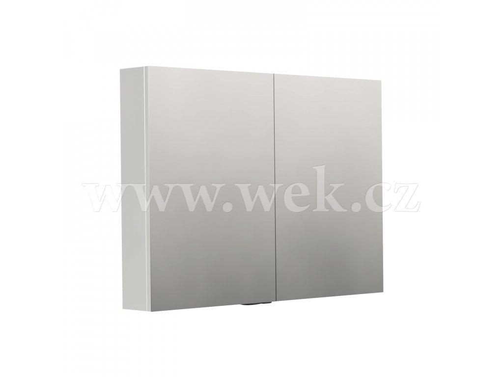 NY ZS 100   Zrcadlová skříňka New York, zásuvka + vypínač, bez osvětlení, IP44