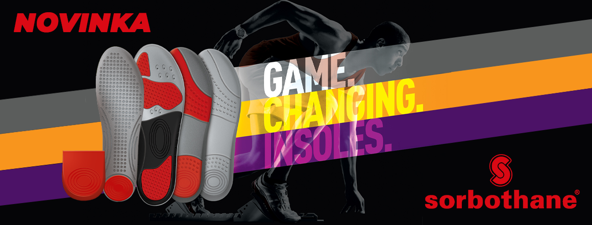Sportovní gelové vložky do bot SORBOTHANE