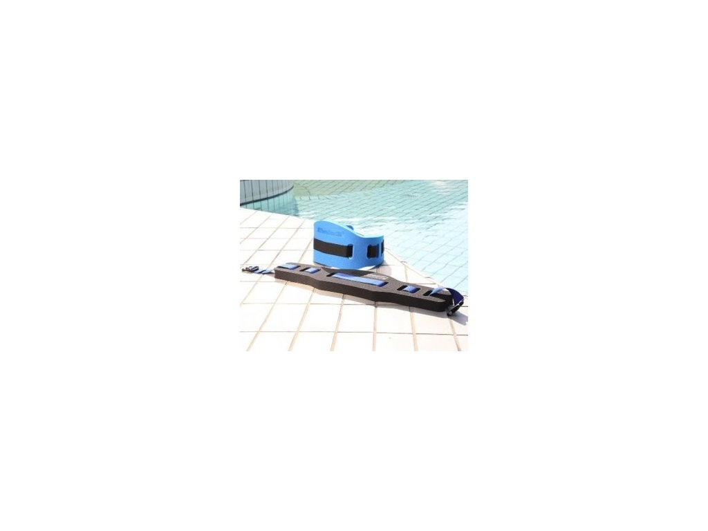 THERA-BAND plovací pás velký, černý, 210x780x40 mm