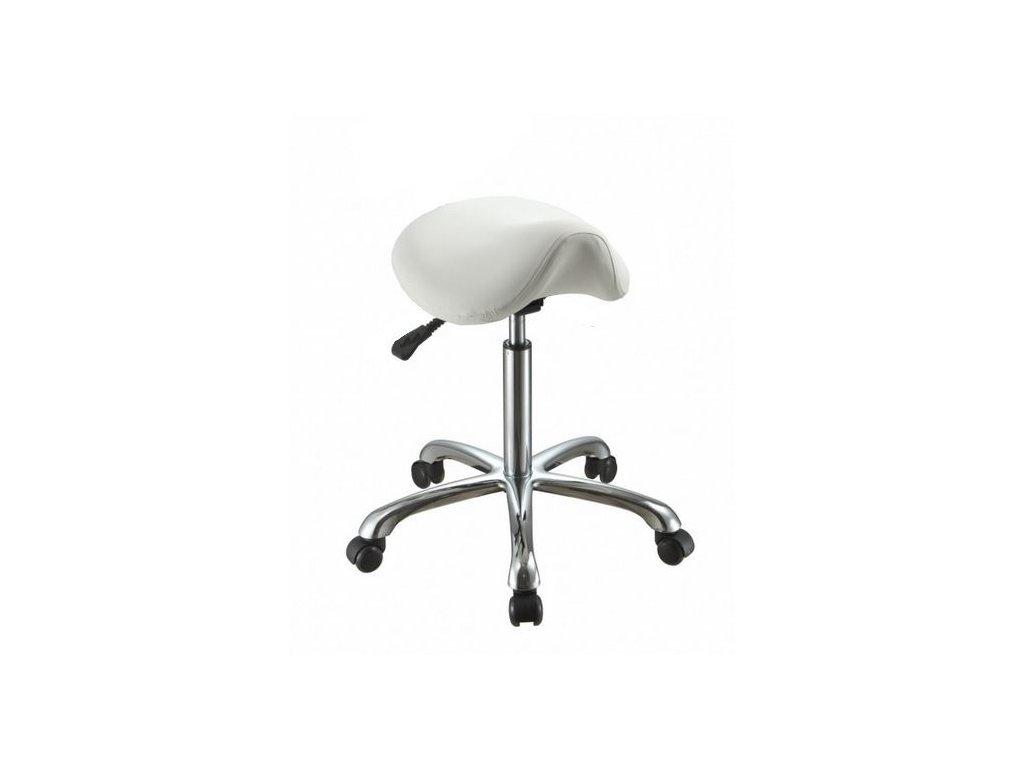 Masérská židle se sedlovým sedákem