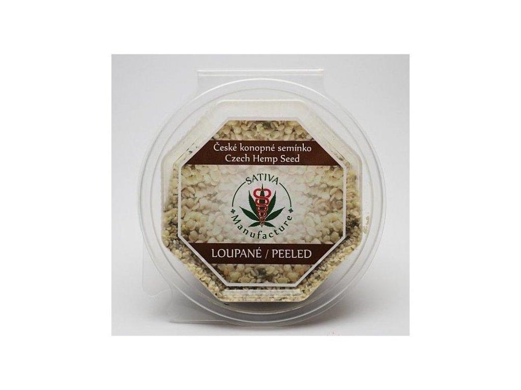 Konopné semínko loupané v kvalitě RAW 250 g