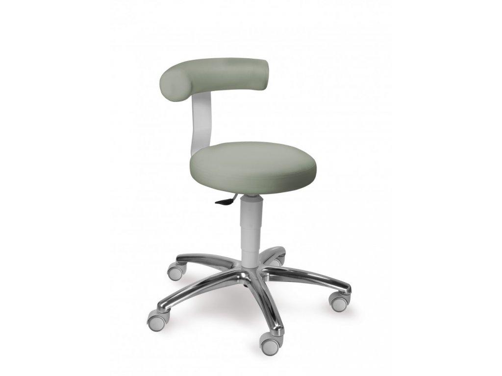 Zdravotnická stolička s oporou zad 1283