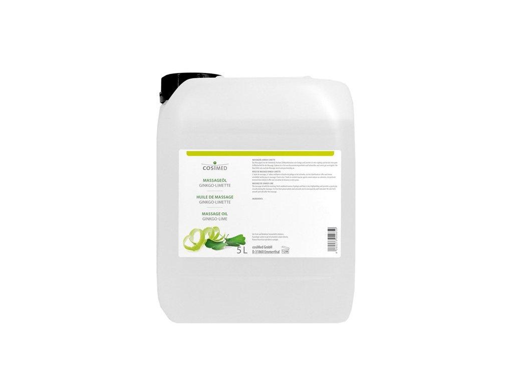 cosiMed masážní olej Ginkgo-Limetka - 5000 ml