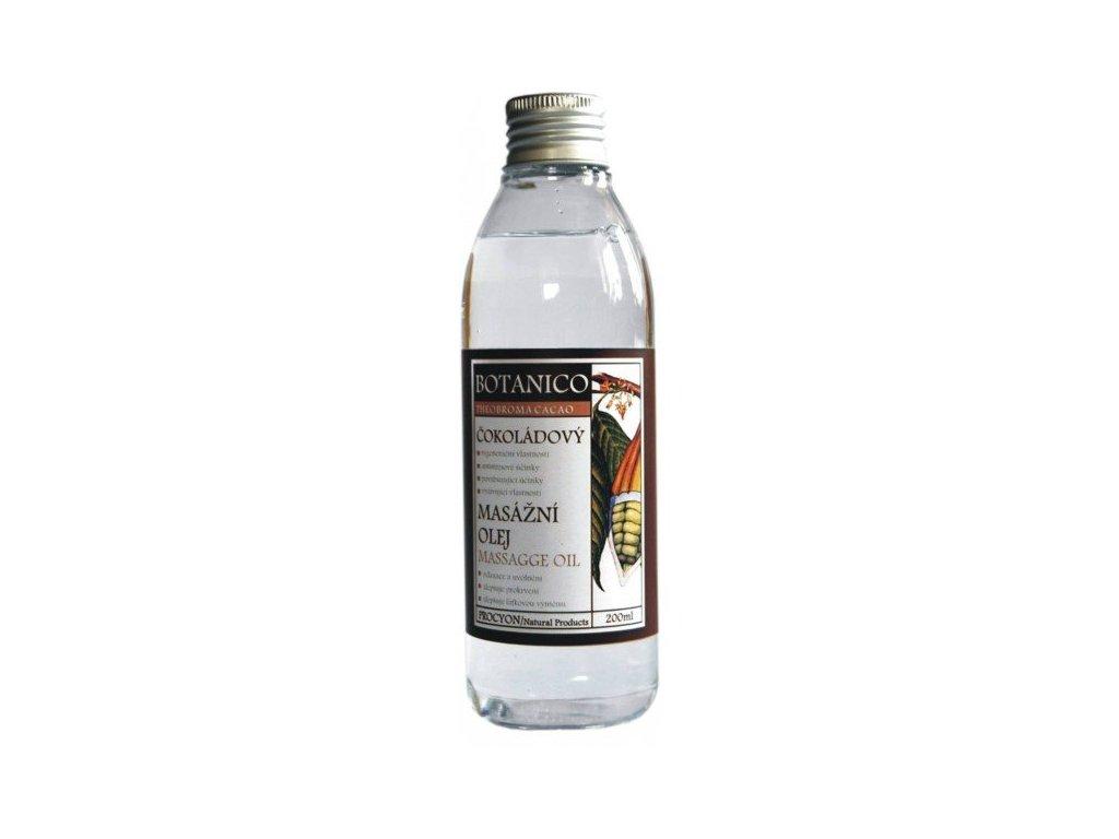 Botanico čokoládový masážní olej - 200 ml
