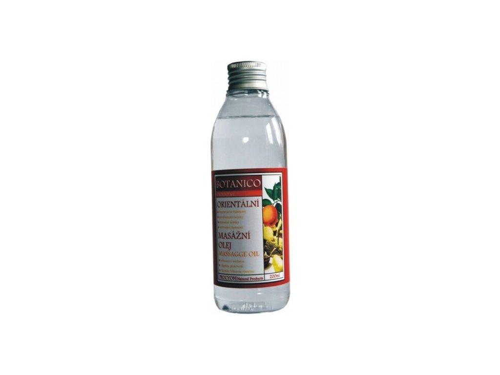 Botanico orientální masážní olej - 200ml