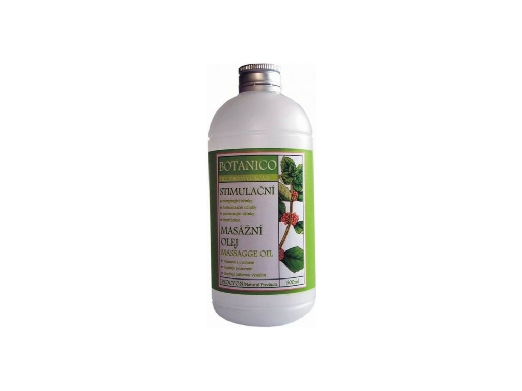 Botanico stimulační masážní olej 500ml