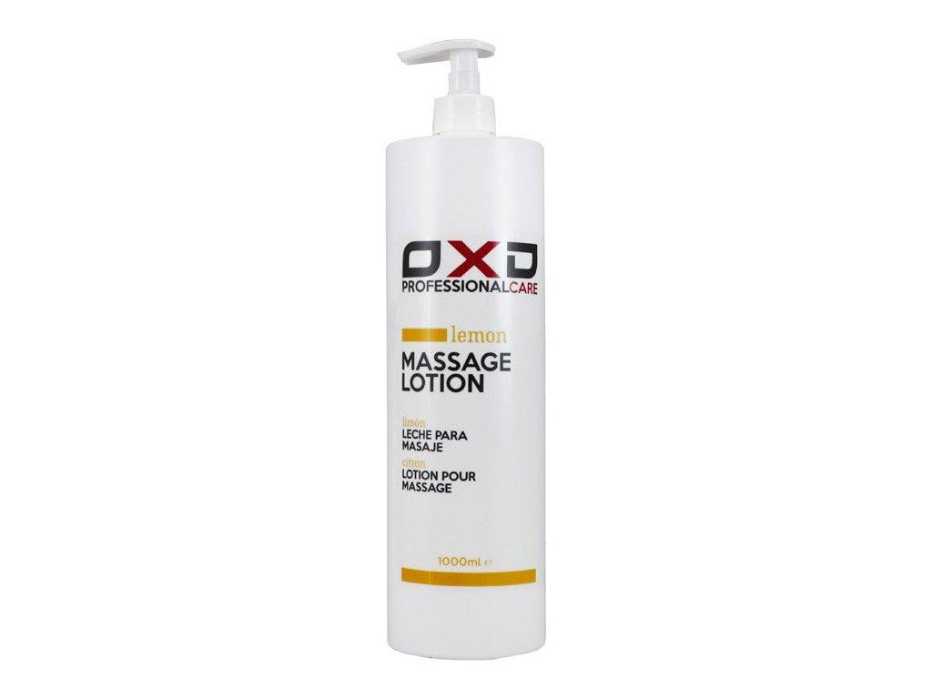 OXD masážní emulze Citrón - 1000 ml
