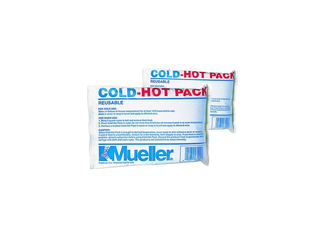 MUELLER Reusable Cold/Hot Pack, gelový polštářek pro C&H terapii-malý