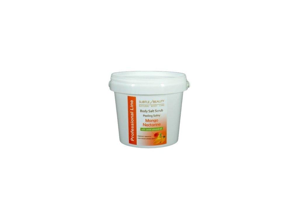 Peelingová sůl Mango a Nektarinka, 1kg